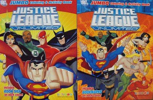 Libros para Colorear y Actividades de la Liga de la Justicia. 1 Libro