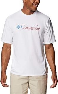 Columbia Men's PFG Stacked Logo Graphic Short Sleeve