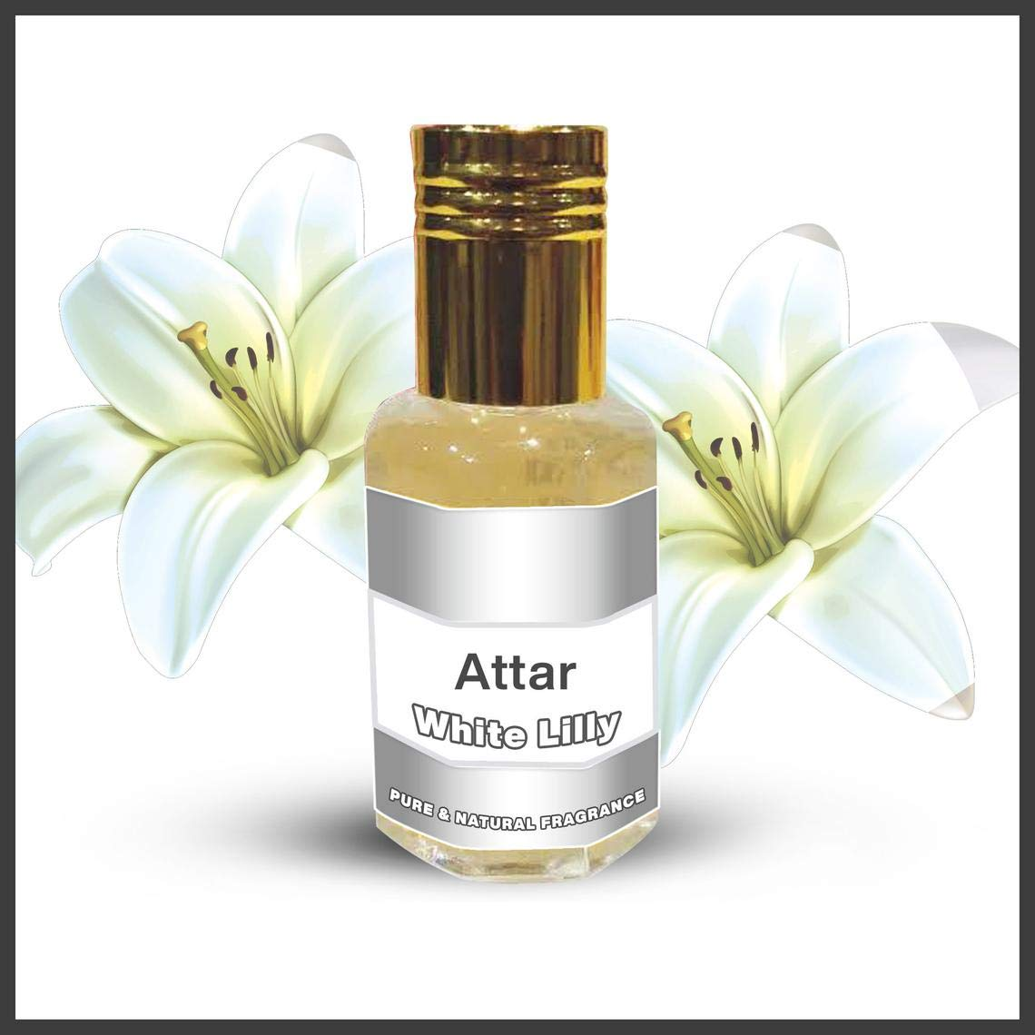 White El Paso Mall Lilly Attar Pure Fragrance On Super popular specialty store Perfume Roll