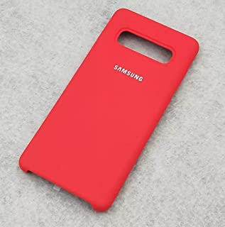 Case For Samsung Galaxy S10 Plus Silicon Case Cover Red color