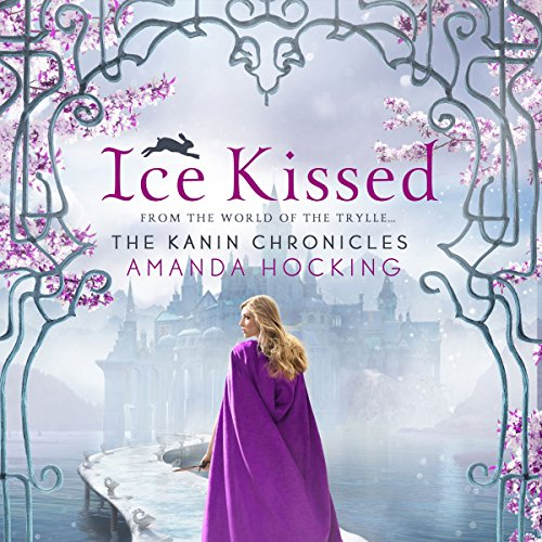 Ice Kissed audiobook cover art