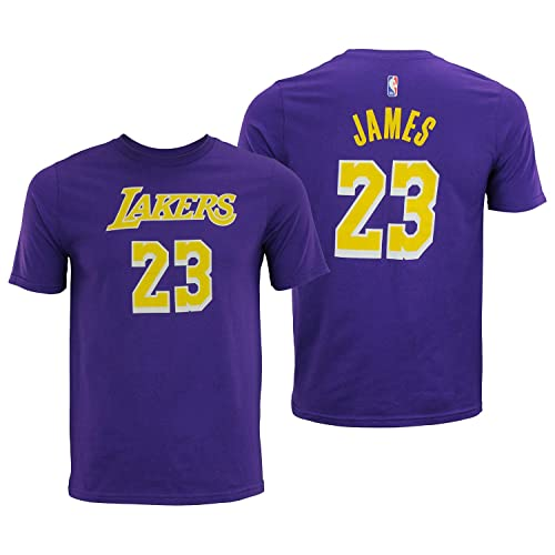 superior quality da4e6 fa18b Men's Lebron James Lakers Jersey: Amazon.com