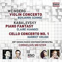 Weinberg: Violin Concerto / Kabalevsky: Piano Fantasy / Cello Concerto No. 1
