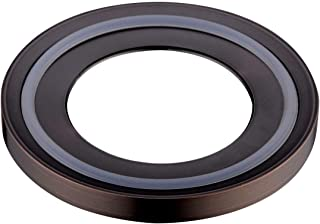 BESTILL Brass Bathroom Mounting Ring for Vessel Sink,Oil Rubbed Bronze/ORB