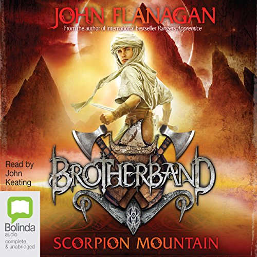 Scorpion Mountain: Brotherband, Book 5 audiobook cover art