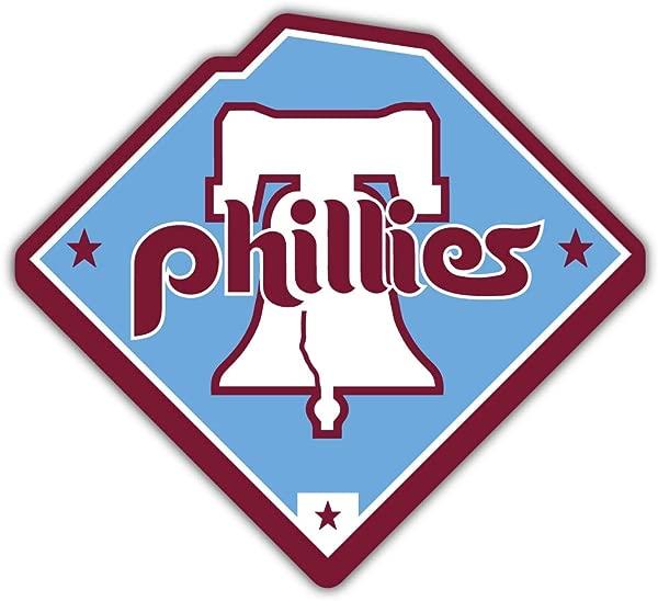 Skyhighprint Philadelphia Phillies MLB Sport Decor Vinyl Print Sticker 5 X 5