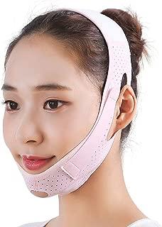 Face Lifting Belt, Double Chin Reducer, Facial Intense Lifting Slim Belt Double Chin Strap, Skin Care Chin Lifting Firming Strap Reducing Belts for Women