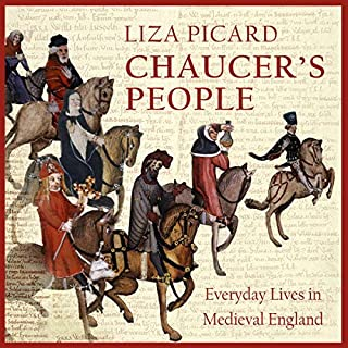 Chaucer's People audiobook cover art