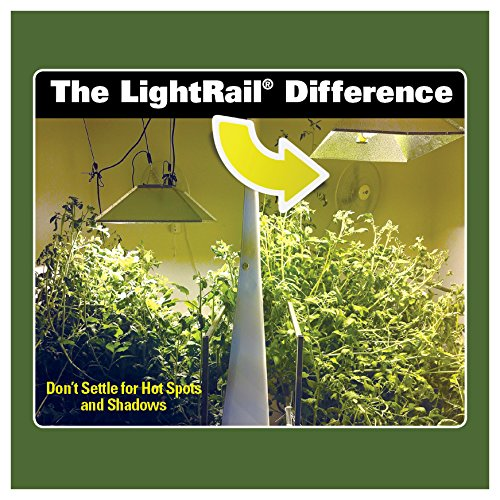 New Extreme Duty Trolley Wheel Set Light Rail Robotic Grow Light Mover Genuine Solidly Made in The USA