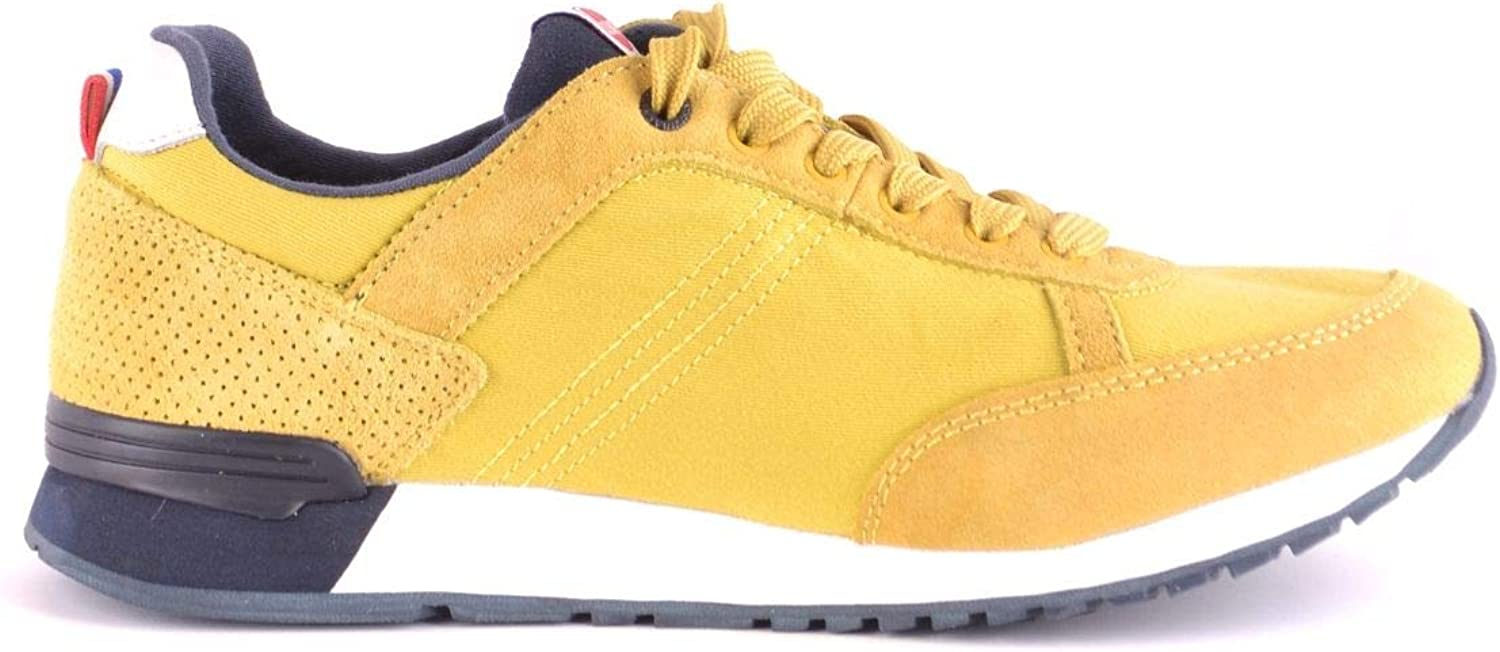 COLMAR ORIGINALS Men's MCBI35584 Yellow Fabric Sneakers