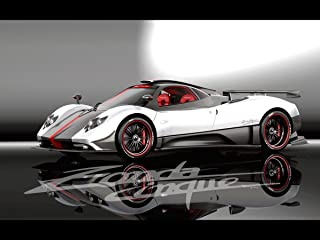 Gifts Delight Laminated 17x13 Poster: Ruote Bollenti Pagani Zonda Cinque Roadster