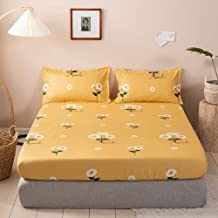 Non-Slip Mattress Cover,Bedding Mattress Protective Case,Lightweight Soft Microfiber Mattress Cover,Dorm Room Home Bed She...