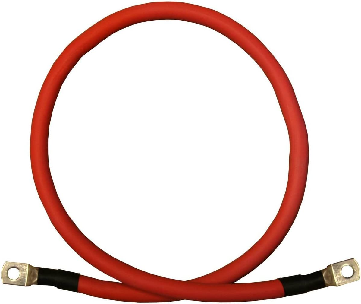 6 AWG Gauge Single 67% OFF of fixed Charlotte Mall price Red 9 inches Copper 5 16