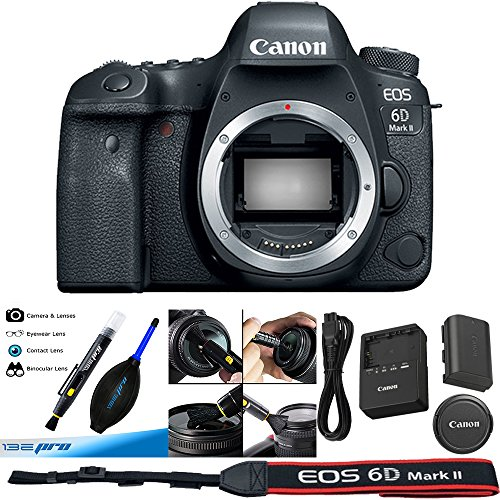 Canon EOS 6D Mark II DSLR Camera (Body) - Deal Expo Bundle