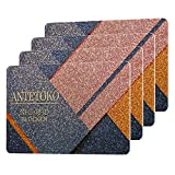 RFID Blocking Card   Credit and Debit Card Protector   Shield Your Wallet, Purse, Passport and More from RFID/NFC Skimming   4 RFID Security Cards Included (Gold)