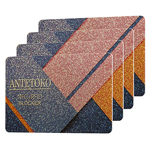RFID Blocking Card | Credit and Debit Card Protector | Shield Your Wallet, Purse, Passport and More...