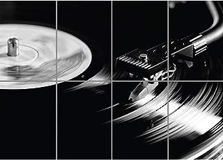 Doppelganger33LTD RECORD PLAYER VINYL TURNTABLE 1210 DJ DECK WALL ART PRINT POSTER GIANT XL EN082