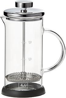 メリタ Melitta コーヒー メーカー フレンチプレス ガラス製 耐熱 分解洗浄 350ml 3杯用 スタンダード MJF-1701