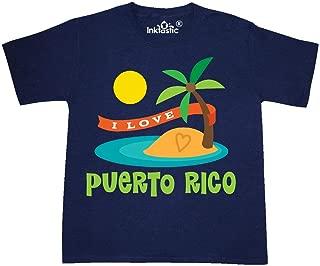 I Love Puerto Rico Youth T-Shirt