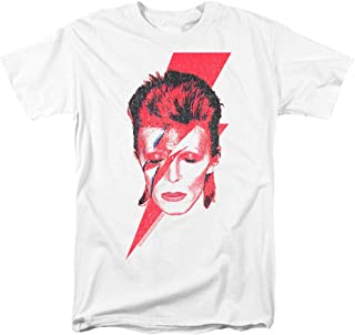 David Bowie Aladdin Sane Rock Album Cover T Shirt & Stickers