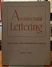 Architectural lettering for plans and ornamental design