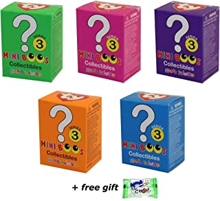 Set of 5 TY Beanie Boos Mini Boo Collectible Figurines BLIND BOXES 2 inch