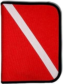 Innovative Scuba Concepts Scuba Diving Log Book - Red Cordura Diver Down Flag Three-Ring Binder