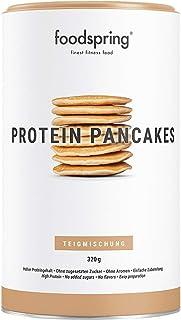 comprar comparacion foodspring Tortitas Proteicas, 320g, Sin azúcares añadidos, 6 veces más proteína que las normales, Bajas en carbohidratos