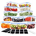 12-Pack Ionlyou Airtight Food Containers + 16-Count Labels + Marker Pen
