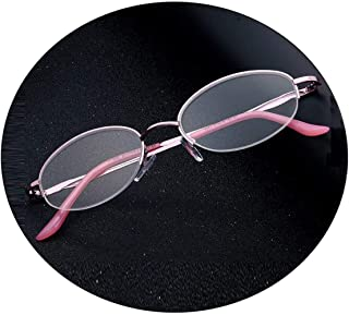 Comfortable Reading Glasses Female Fashion Comfortable Simple Old Man Old Light Glasses Female Reading Glasses Female HD Beautiful (Size : +2.0)