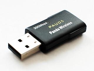 Panda 300Mbps Wireless N USB Adaptador – Windows Vista/7/8/8.1/10, menta, Ubuntu, Fedora, openSUSE, Centos, Lubuntu, Zorin, Kali Linux y Raspbian Wheezy