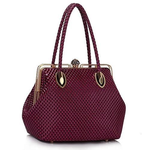 46b9b1dcf217 Clasp Handbags: Amazon.co.uk