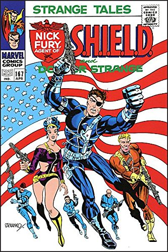 SHIELD COMPLETE COLLECTION OMNIBUS DM VAR STERANKO COVER