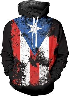 pinata Puerto rico Pullover Hoodie Men 3D Printed Hooded Sweatshirt Casual Pockets