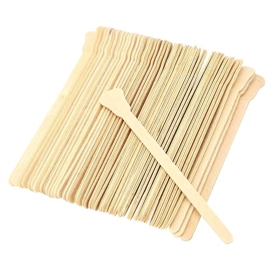 聖なる関係ない同様の使い捨て木製脱毛スティックワックススティック50枚