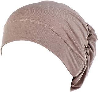 MoreChioce Muslim Hijab Cuffia Unisex da Casa,Cappello da Sonno,Turbante Chemioterapia,Elastico Sonno Notte Dormire Cap Co...