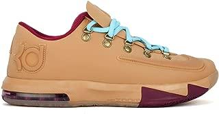NIKE KD VI EXT Gum QS Men Sneaker Gum Light Brown/Raspberry Red 639046-900