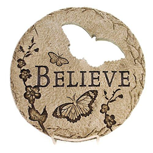 Believe Garden Stone