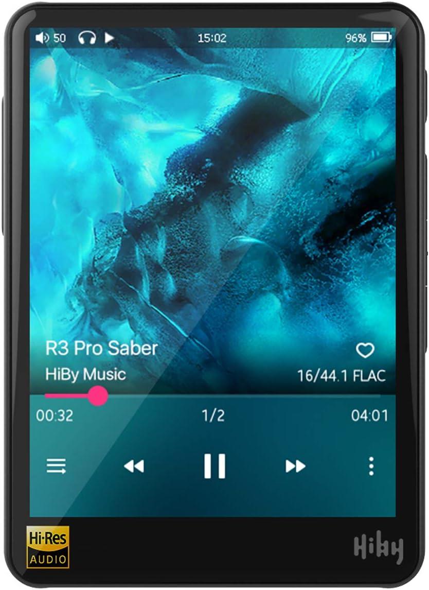 HiBy R3 Pro Saber - Reproductor de música portátil con doble DAC
