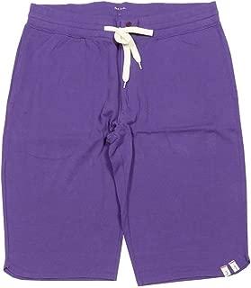 【Paul Smith】ポールスミス ウォッシュド加工ハーフ鹿の子パンツ(ワンマイルウェア) 紫