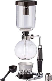 Hario TCA-3 macchina per caffè Libera installazione Strumento per preparare il caffè sottovuoto Nero, Trasparente 3 tazze