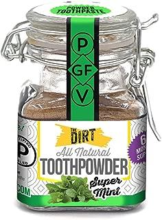dirt tooth powder