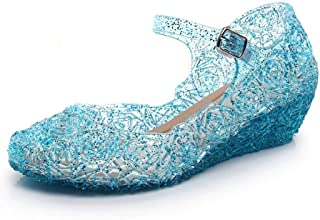 Frozen Slippers Kids Sandals Water Shoes Water-Proof Summer Princess Crystal Girls Sandals Waterproof Girls Shoes