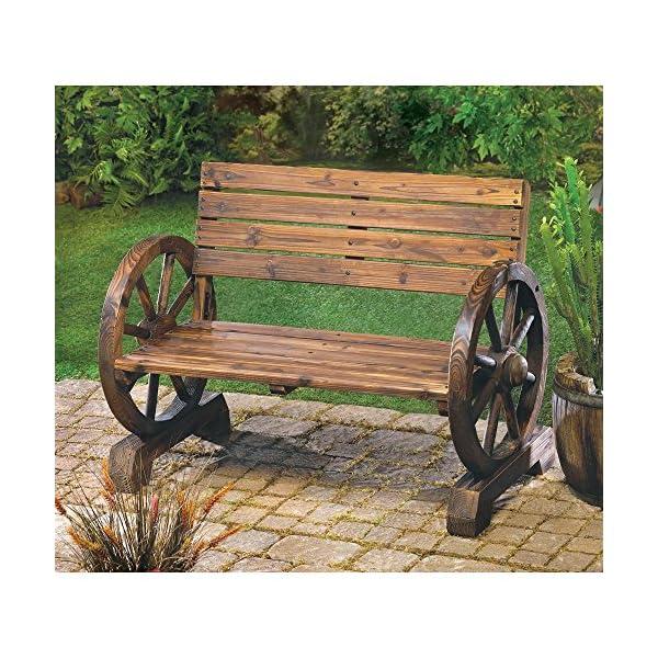 Summerfield Terrace Wagon Wheel Bench