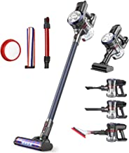 Dibea Upgraded 24KPa Cordless Stick Vacuum Cleaner Powerful Suction Bagless Lightweight Rechargeable 5 in 1 Handheld Car V...