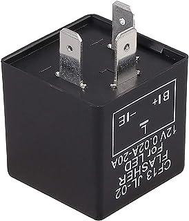 Moto Relé Intermitencia 3 Pin 12 V Relé Flash LED Indicador Rele para LED Indicador de Señal Resistor Flasher Relay Motocicleta