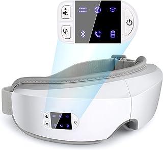 ماساژور چشم MITO 4D با گرما برای زنان ، ماساژور چشم با لرزش فشار برای خشکی چشم با تماس بلوتوث