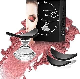 Puya Eyeshadow Stamp Crease,Eye Shadow Stamp Powder Applicator,Eyes Makeup Tool Draw Eyeshadow in Seconds (3 Pack)