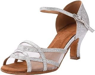 Women's Latin Dance Shoes Female's Ballroom Salsa Dance Shoes