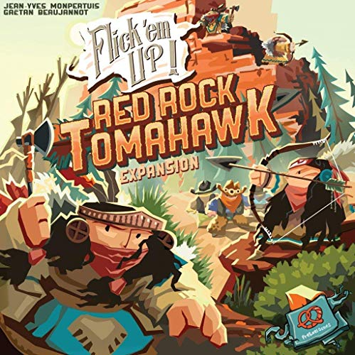 Pretzel Games - Flick'em Arriba! Red Rock Tomahawk expansión - inglés